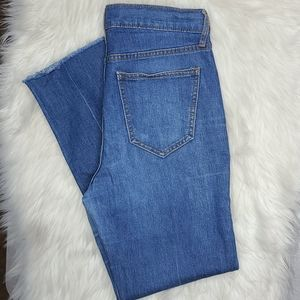 Old Navy the power jean ankle size 4 mid wash
